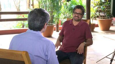 Entrevista exclusiva con Iván Márquez, jefe negociador de...