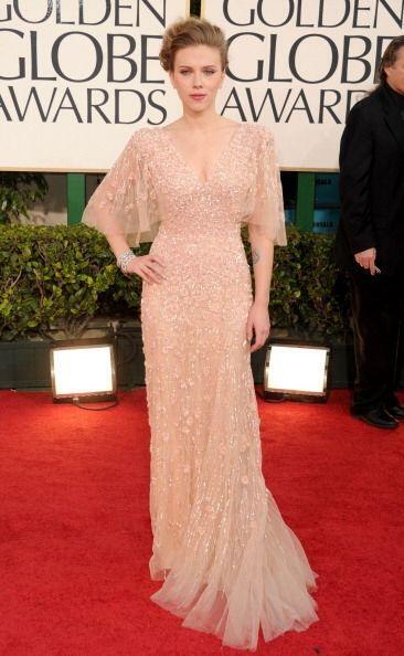 Otro majestuoso 'outfit' que ha desfilado por los Golden Globes fue este...