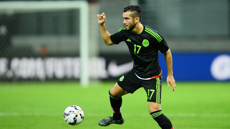 El futbolista fomró parte del combinado mexicano que jugó en Chile 2015.