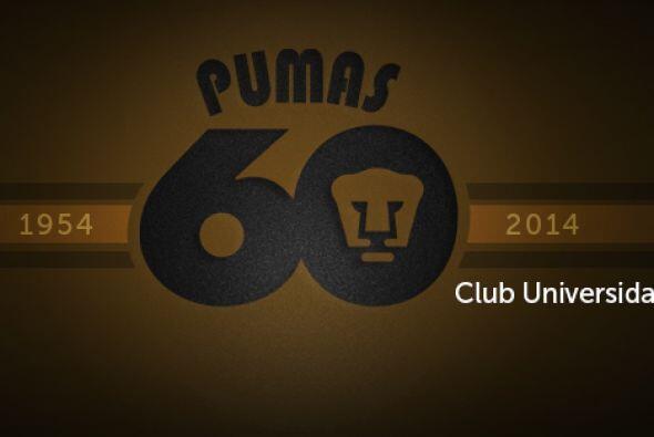 Este fin de semana Pumas festeja sus 60 años, seis décadas...