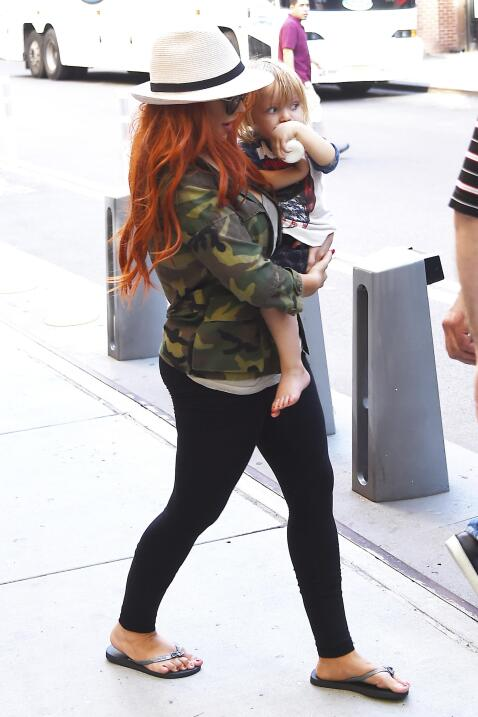 Christina Aguilera y su hija Summer Rain