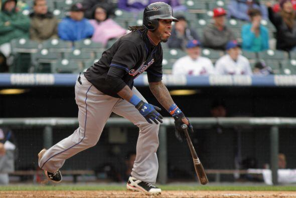 José Reyes de los Mets no se quedó atrás y tuvo excelentes actuaciones:...