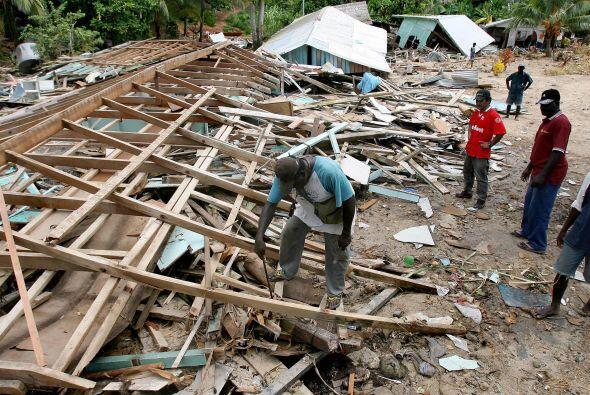 El tsunami más devastador que han sufrido las islas Salomón hasta la fec...