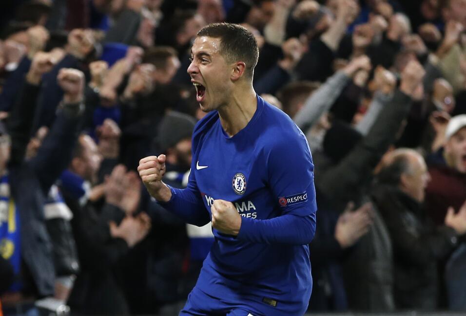 10. Eden Hazard (Chelsea / Bélgica)