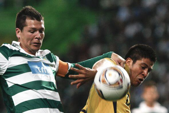 En el último partido de la Ida, el Sporting de Lisboa venci&oacut...
