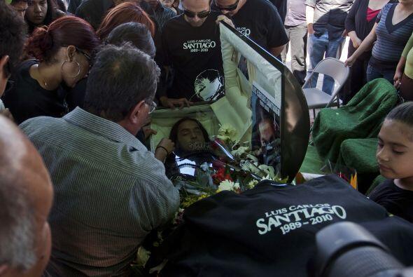 Muchas de las salas funerarias velan víctimas del narco, como los...
