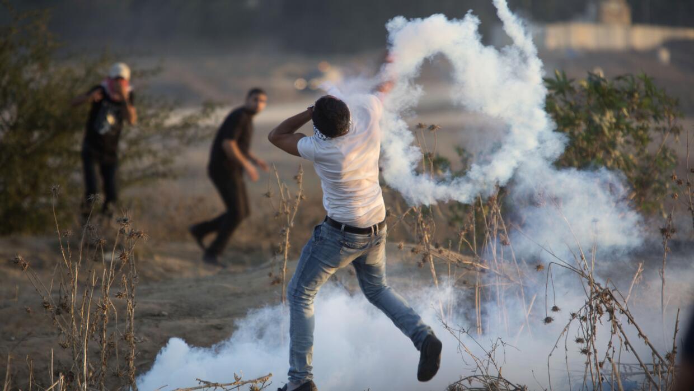 """El """"Viernes de la Ira"""" se inició de madrugada cerca de Cisjordania"""