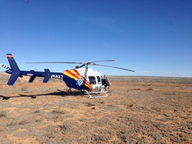 Mujer perdida en el norte de Arizona es rescatada por las autoridades st...