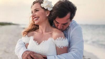 Jorge Salinas y Elizabeth Álvarez celebran 6 años de casad...
