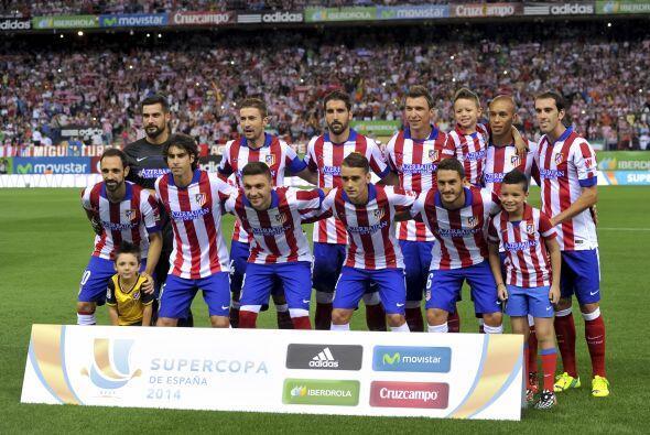 El Atlético equipo no solo luce tan solvente como en la última temporada...