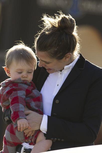 Así captamos tanto a madre como hijo, visitando un espectá...
