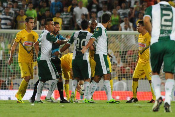 Tras perder el invicto ante Santos Laguna, hilvanó cinco partidos sin ca...