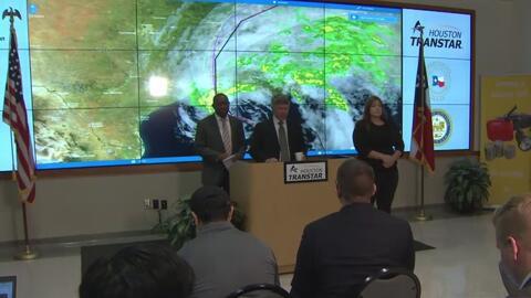 Condado Harris en nivel 3 de alerta ante el paso de la tormenta tropical...