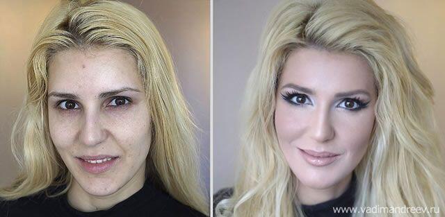 La maquilladora Vadim Andreev se ha convertido en una de las mejores del...