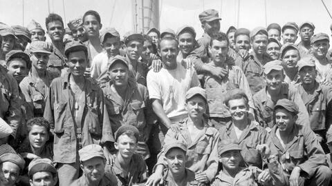 ¿Quiénes eran el Regimiento 65 de Infantería?