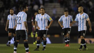 La debacle de Argentina en plena eliminatoria mundialista