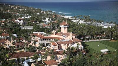 Este es el club de Donald Trump, Mar-a-Lago, ubicado en Palm Beach, Flor...