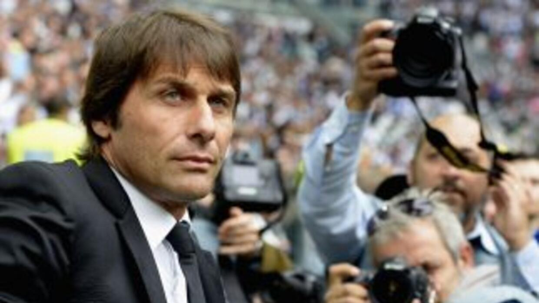 El entrenador de Juventus, reciente campeón de la Serie A, se tomó un mo...
