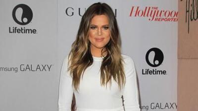 """La extrovertida Khloé Kardashian no duda en proclamarse como la más """"atr..."""