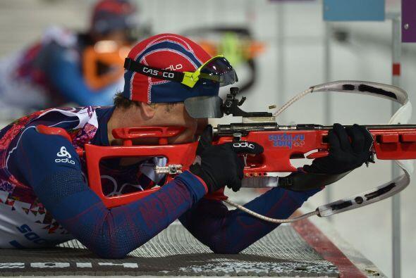Björndalen igualó el récord absoluto de medallas olímpicas invernales de...