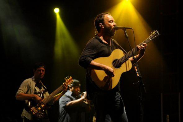 5. Dave Matthews Band; 1,059,266 dólares; 54.34 dólares.