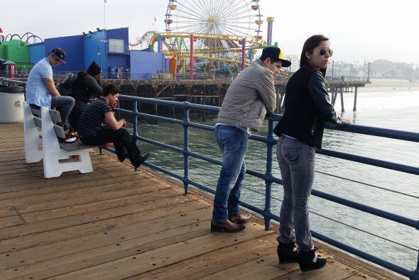 Santa Monica es maravilloso.