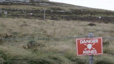 Las minas antipersonas activas son un peligro en al menos 59 países del...