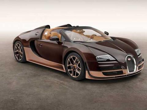 En 2013 Bugatti presentó los primeros tres modelos de su serie Le...