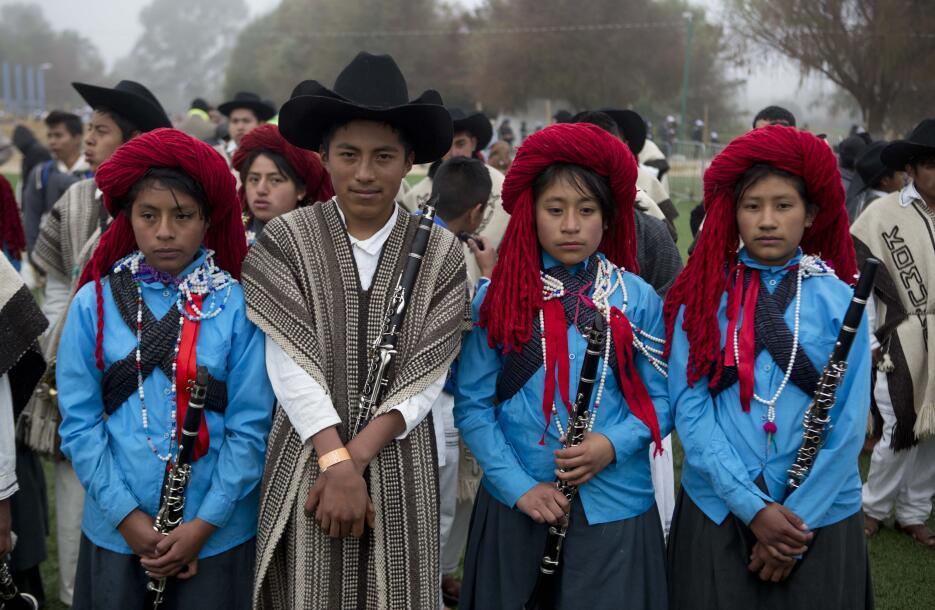 El papa en Chiapas