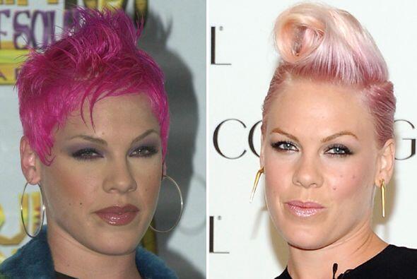 """Pink sin duda es una de las famosas más camaleónicas del """"..."""