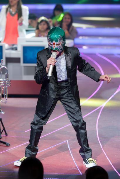 Un pequeño enmascarado intrigó a todos, Toñito Ramírez es el representan...