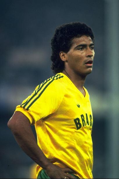 1993: Romario volvió a figurar como campeón de goleo. Con siete tantos l...