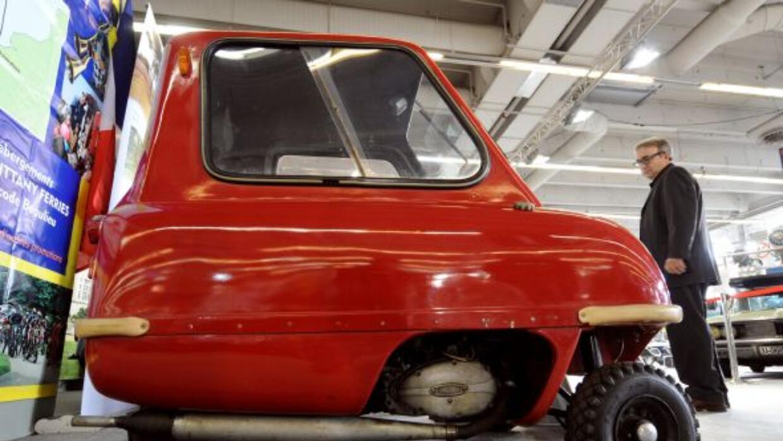 El Peel P50 es el auto de producción más pequeño del mundo.