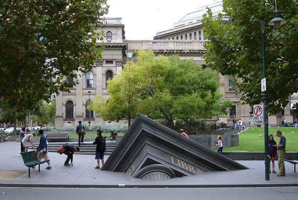 Biblioteca estatal, Melbourne (Australia)
