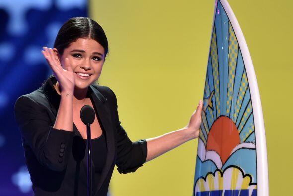 Selena Gomez recibió un premio especial