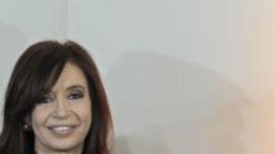 Cristina Fernández de Kircher cumplió tres años en la presidencia de Arg...