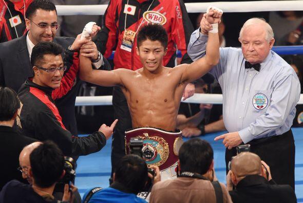 El japonés Naoya Inoue noqueó al argentino Omar Narváez en una batalla e...