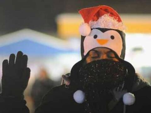 Los manifestantes tomaron las calles el miércoles por segunda noc...