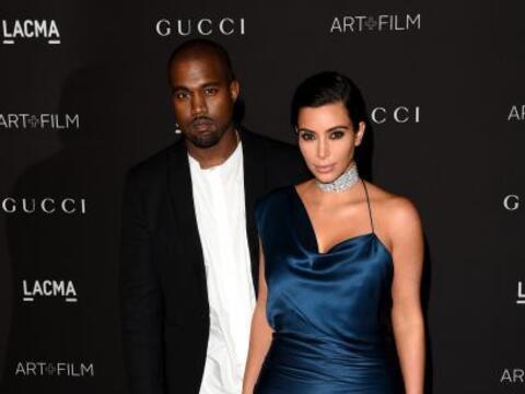 Kim y Kanye se presentaron en la 2014 LACMA Art+Film Gala en Los &Aacute...