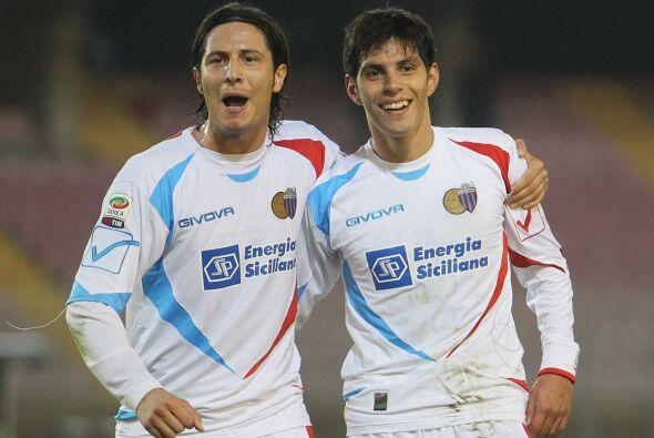 Con gol de Pablo Barrientos, el Catania se encargó de hundir m&aa...