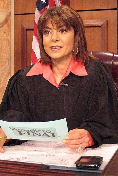 La jueza escuchó los argumento de Miriam.