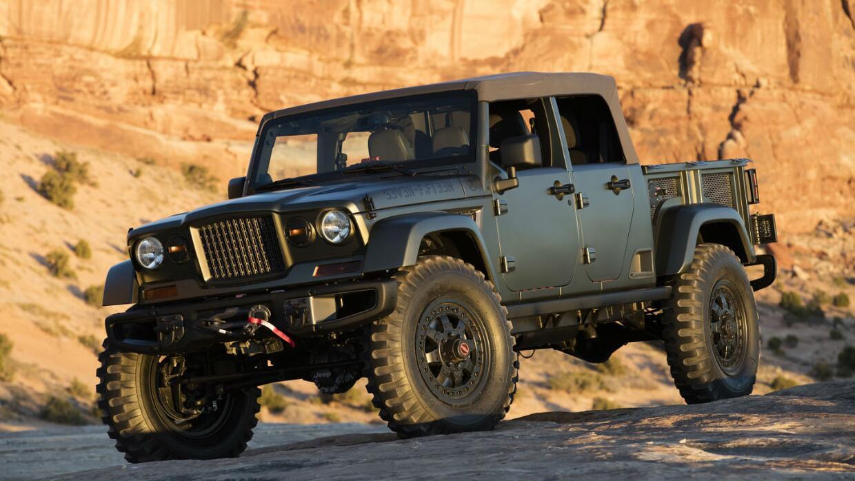 La próxima  pickup de Jeep podría estar basado en el Crew Chief 715 de 2...