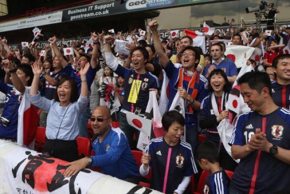 Japón anotó un gol antes del primer minuto y a partir de allí domino la...