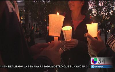 Vigilia por víctimas de San Bernardino