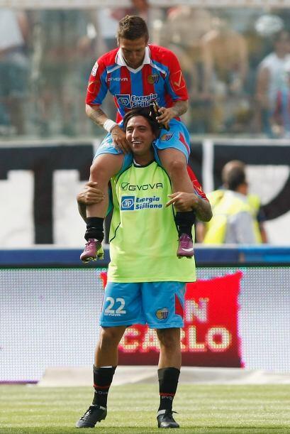 Los jugadores del Catania son buenos compañeros y se cuidan el un...