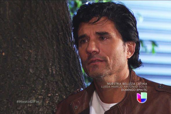 ¡Pobre Armando! Se quedó sólo con su alma.