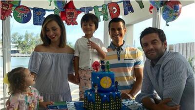 Con un festejo muy familiar, Satcha Pretto celebró el cumpleaños de su hijo Bruce (fotos)