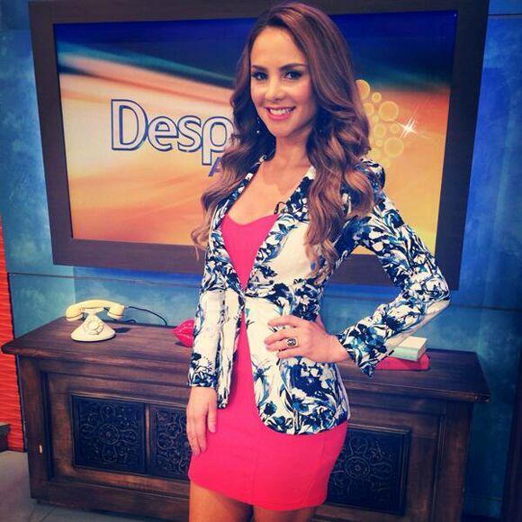 """""""Feliz día para todos los amantes de @DespiertaAmeric"""", deseó Ximena Cór..."""