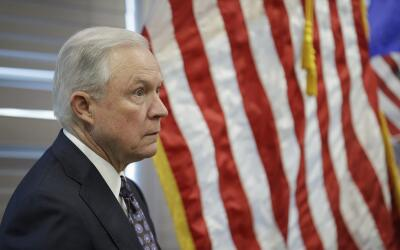 Jeff Sessions, secretario de Justicia de EEUU