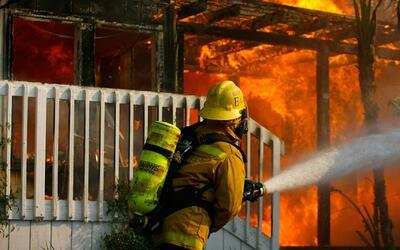 'Chicago en un Minuto': un bombero murió por un paro cardiaco mientras a...